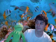 Liam & his new friend 19th March 2012