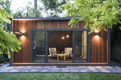 The Perfect Modular Backyard Office Pod Outdoor Office, Backyard Office, Backyard Studio, Garden Studio, Garden Office, Backyard Retreat, Outdoor Decor, Granny Flats Australia, Gym Shed