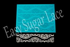 Irish Crochet Silicone Cake Sugar Lace Mat is a great tool to create accents to any cake, cupcake or dessert! Simply pour and spread mix onto the silicone mat. Allow mix to dry and the result is a pliable, edible lace that can be used to decorate any and all sweets!  Mat measures approximately 15.5 inches