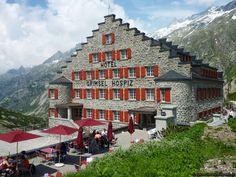 Grimselpass, Hotel Grimsel Hospiz, Berner Oberland