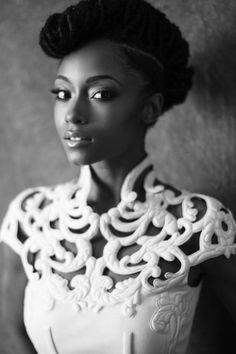 Alluring ethnic beauty - thickasschocolatemermaid:   asavageking:  ...