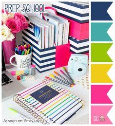 Inspire Sweetness!: Prep-School - Color Palette