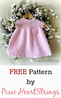 Pixie HeartStrings: Pixie's Pretty Pink Dress Pattern ~ FREE Pattern!