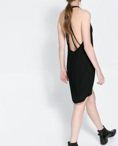 ZARA - WOMAN - BACKLESS DRESS WITH STRAPS