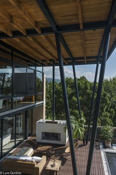 Pergola Attached To House Roof Pergola Swing, Pergola Shade, Pergola Plans, Porch Swing, Roof Design, House Design, Luxury Modern Homes, Pergola Attached To House, Steel House