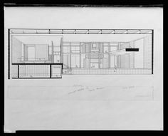 A Selection Of Paul Rudolph S Perspective Sections