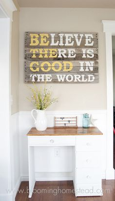 possible diy decor project for my bedroom