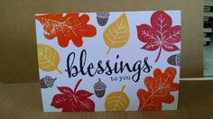 Blessings By MeganBeth at SCS, Card One
