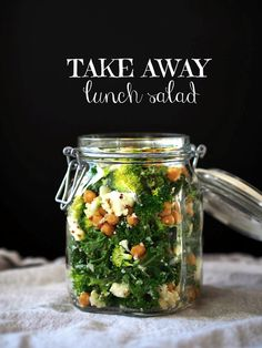 Take away lunch salad // At Maria's