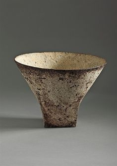 ceramic vessel, Sans titre by Paul Philp Ceramic Tableware, Ceramic Clay, Ceramic Bowls, Raku Pottery, Thrown Pottery, Slab Pottery, Wabi Sabi, Earthenware, Stoneware