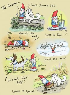 Simon's Cat is an animated cartoon series created by Simon Tofield. Simons Cat, Crazy Cat Lady, Crazy Cats, Gatos Cats, Cat Comics, Humor Grafico, All About Cats, Calvin And Hobbes, Illustrations