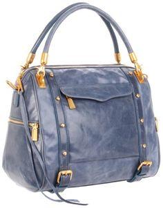 Rebecca Minkoff - denim blue color bag