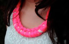 Unconfined Aspirations: DIY Necklace for Cosmopolitan India.