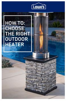 Find the perfect outdoor heating system for your patio space. Outdoor Heaters Patio, Patio Heater, Outdoor Heating Ideas, Backyard Patio Designs, Backyard Landscaping, Patio Ideas, Diy Patio, Kew Gardens, Outdoor Gardens