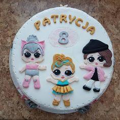 8 urodzinki mojej kochanej dziewczynki #birthdaycake #lolsurprisedolls #cake
