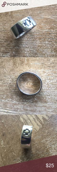 Ring for men sz 10 Sterling silver solid 925✨ Ring for men Sterling silver solid 925 sz 10. 8.15 gm Jewelry Rings