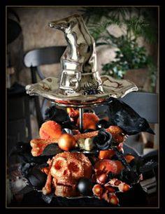 Swanky Blog: Halloween Tablescape