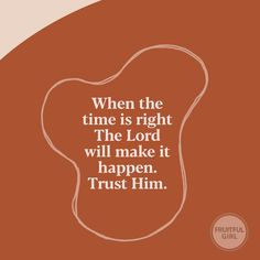 On His time it will happen Bible Verses Quotes, Jesus Quotes, Faith Quotes, Me Quotes, Motivational Quotes, Inspirational Quotes, Scriptures, Religious Quotes, Spiritual Quotes
