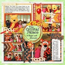 Crystal Palace - Left Side - MouseScrappers - Disney Scrapbooking Gallery