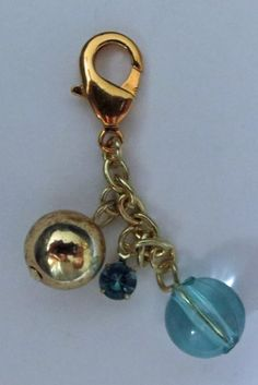 """Made by LaVerne Mulvey - LaCraft Fun / Zipper pull or key chain """"cha"""""""