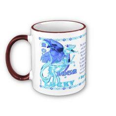 Valxart 2012 2072 1952 WaterDragon zodiac Leo Coffee Mugs