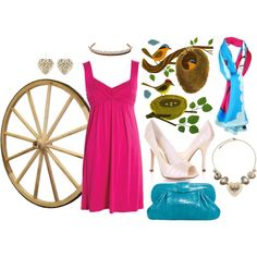 """""""Once Upon A Dream"""" by spiceauburn on Polyvore - Aurora Inspired"""