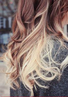 nuovo trend capelli tintura balayage 2014 highlights e ombre