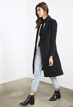 Classic Wool-Blend Overcoat
