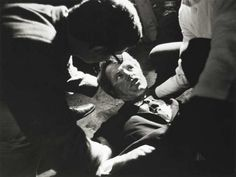 Presidential candidate Robert Kennedy shortly after being shot by Sirhan Sirhan 5 June 1968 [929x700]