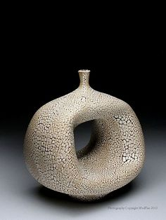 Keiko Coghlin Altered Bottle Form at MudFire Gallery