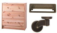 DIY Apothecary Cabinet Ikea Rast Hack