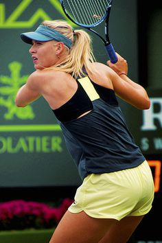 Maria Sharapova -Miami Open @JugamosTenis #tennis