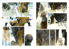 Man Arenas: Yaxin the Faun Comic Layout page.