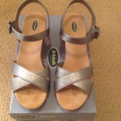 Pewter Sandals Pewter Sandals DrScholl's Shoes Sandals
