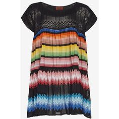 Missoni Mare Knit Baby Doll Dress ($995) ❤ liked on Polyvore featuring missoni mare