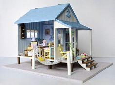 DIY Miniatur Puppenhaus 3D-Modell montiert Voice von barvazon10