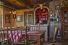 Interior of Cafe Hamming, Garnwerd, The Netherlands