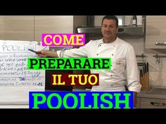 COME PREPARARE IL TUO POOLISH PER PIZZA, PANE E LIEVITATI IN GENERE - YouTube