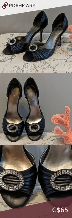 I just added this listing on Poshmark: Aldo Black Leather Jewelled Pumps. Aldo Shoes, Shoes Heels, Pumps, Gorgeous Heels, Kitten Heels, Black Leather, Jewels, Best Deals, Closet