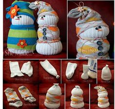 Sock Snow Man (DIY)