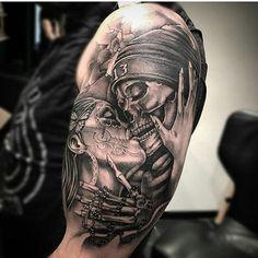 Tatuajes De Catrinas Con Calaveras Buscar Con Google Tatuajes
