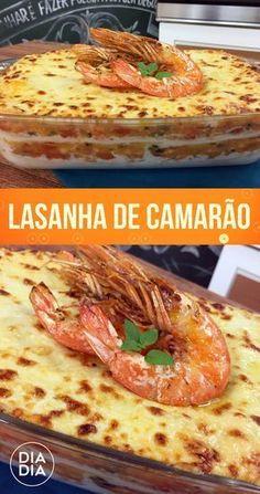 59 ideas for recipes pasta lasagne Seafood Risotto, Seafood Bake, Seafood Recipes, Pasta Recipes, Cooking Recipes, Seafood Pizza, Sea Food Salad Recipes, Filling Food, Good Food