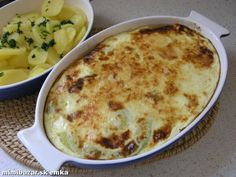 Zapekaná tekvica s tvrdým syrom Macaroni And Cheese, Food And Drink, Pizza, Ethnic Recipes, Summer, Mac Cheese, Summer Time, Mac And Cheese, Verano