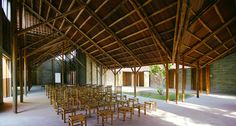 Image 3 of 24 from gallery of Cam Thanh Community House / 1+1>2. Photograph by Hoang Thuc Hao