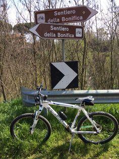 Sul Sentiero della Bonifica, in Toscana, tra Chiusi e Arezzo