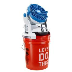 Keep cool in the heat with Arctic Cove Bucket Top Misting Fan at The Home Depot Bucket Air Conditioner, Homemade Ac, 5 Gallon Buckets, Hydration Bottle, Keep Cool, Outdoor Fun, Outdoor Areas, Emergency Preparedness, Tailgating
