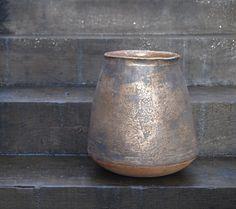 Hand-bilt pot, reduction fired Stoneware, Vase, Ceramics, Beautiful, Home Decor, Ceramica, Pottery, Decoration Home, Room Decor