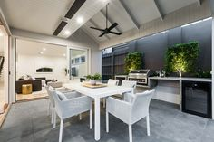 Stunning Sunday: Brand new weatherboard for sale in Essendon, Melbourne, VIC Real Estate Branding, Melbourne House, New Homes, Dining Table, House Design, Interior, Furniture, Home Decor, Sunday