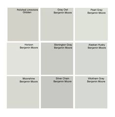 Best gray paint colors: Glidden Polished Limestone and other great grays.