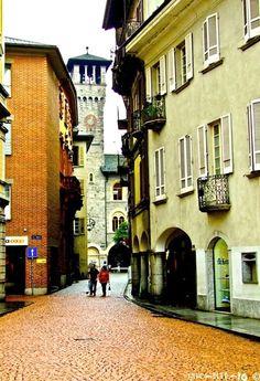 Bellinzona streets - Switzerland